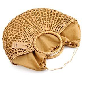 DOKOT Hand-Woven Straw Multi-function Women Handbag