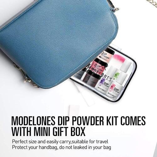 MODELONES Dipping Powder Nail Starter Kit for Beginner