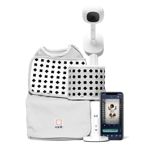 Nanit Complete Baby Monitoring Camera with Wall Mount and Breathing Motion