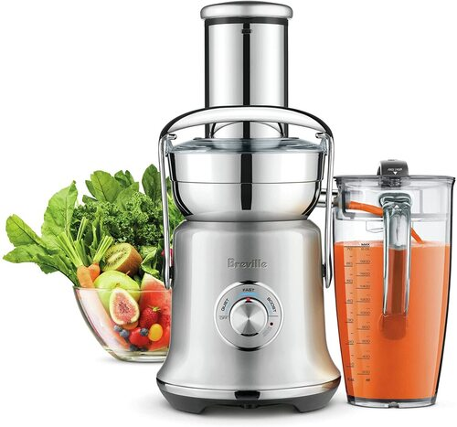 Breville BJE830 Brushed Stainless Steel Juice Founatin Cold Spin Technology XL