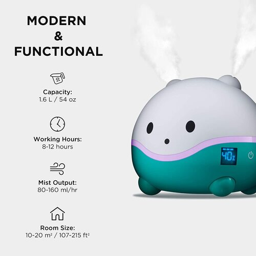 WISPI humidifier, Oil Diffuser and night light for children