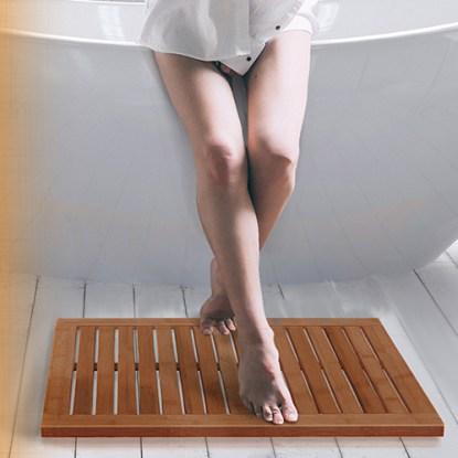 Bambusi Natural 100% Moso Bamboo Floor Mat