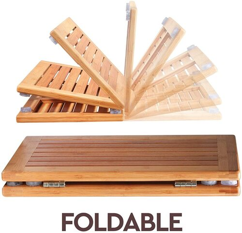 Bambusi Wood Versatile Floor Mat
