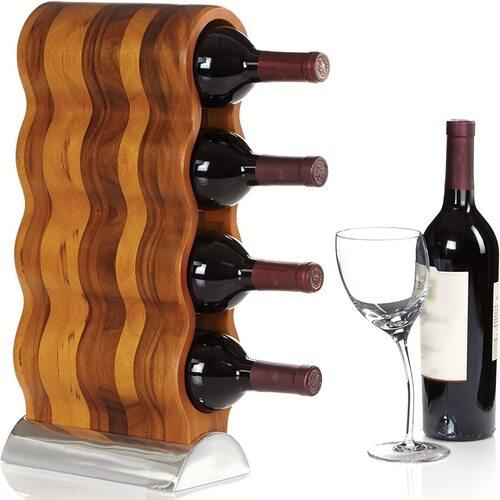 Nambe Curvo Wine Rack
