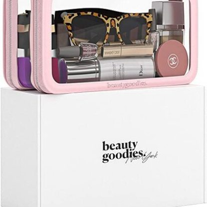 Beauty Goodies Clear Cosmetic Bag
