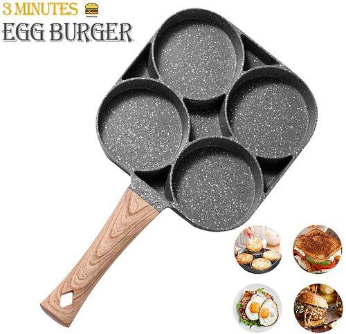 MIUGO Aluminium Alloy, Non-stick Egg Pan with Handle