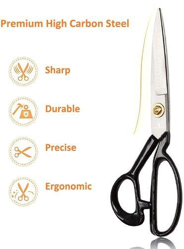 Scissor-Tailed High Carbon Steel Premium Sewing Scissors Set
