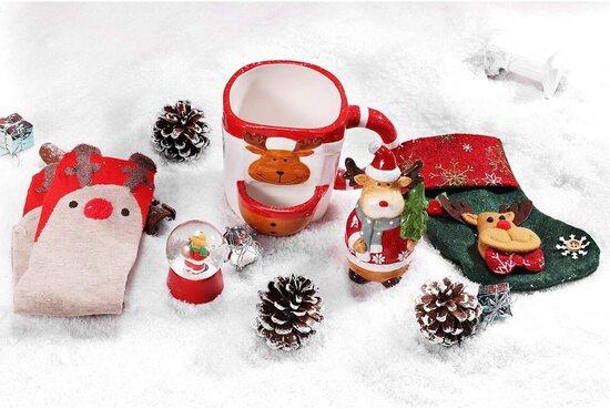BFFLOVE 5 pieces Unique Christmas Ornaments Gift Set