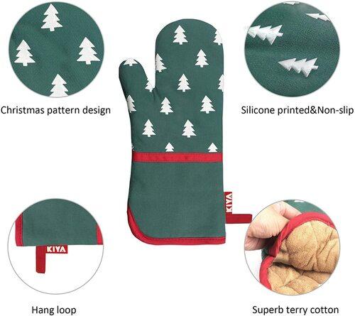 KIYA Christmas pattern baking lovers gift set
