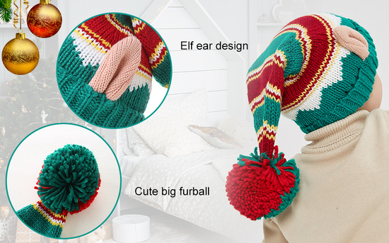 LMLALML Elastic Holiday Winter Cap Great Christmas Gift