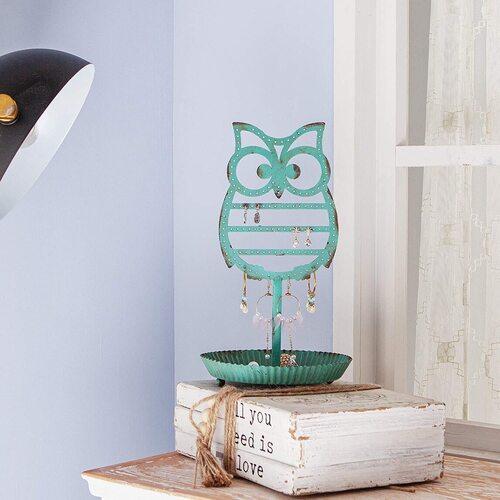 NIKKY HOME Earring Holder Owl Lovers Gift