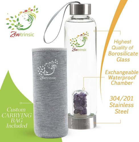 Crystal Elixir Gem Water Bottle