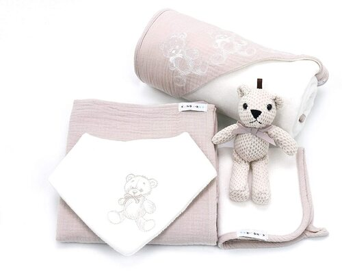 Kanga + Roo 5 pieces baby essentials Shower Gift Set