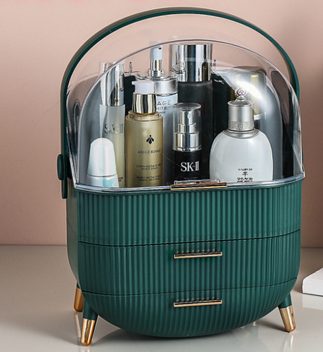 MIUOPUR cosmetic storage box with a lid