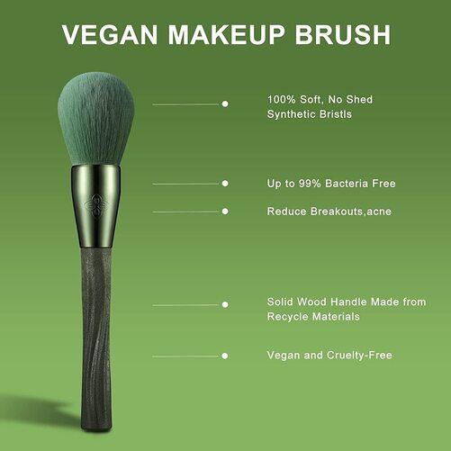 EIGSHOW 12 pcs Vegan Makeup Brushes