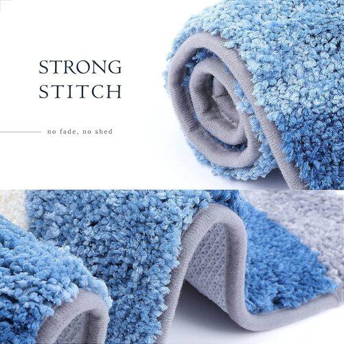Molesun Cute Animal Owl Pattern Anti Skid Bathroom Rug Mat Home Decor