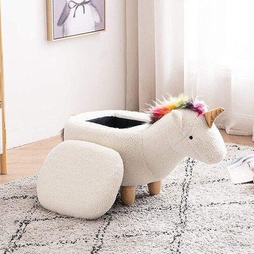 Home 2 Office Childrens Size Animal Storage Ottoman Furniture