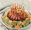 Grilled Lamb Crown Roast