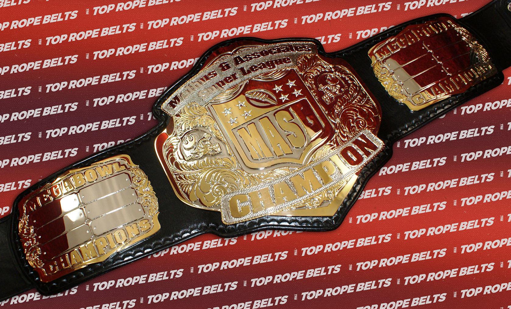 Melhus Super League Fantasy Football Title  Top Rope Belts