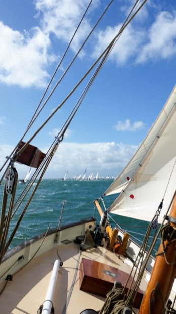 Powering past Bembridge