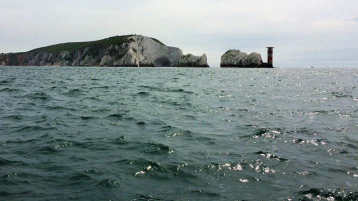 Back past the Needles