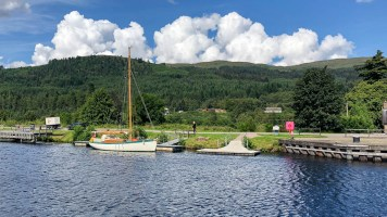 Above Fort Augustus