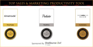 Top Sales & Marketing Productivity Tool Medal Winners 2012