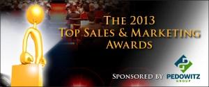 Top Sales & Marketing Awards 2013 sponsored by Pedowitz