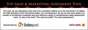Top Sales & Marketing Assessment Tool 2013
