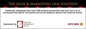 Top Sales & Marketing Awards CRM Solution 2013