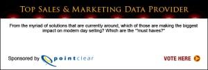 Top Sales & Marketing Awards Data Provider 2013