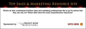 Top Sales & Marketing Awards Resource Site 2013
