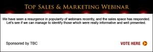 Top Sales & Marketing Webinar 2013