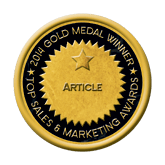 Gold medal Top Sales & Marketing Article 2014