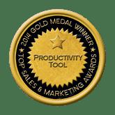 Gold Productivity Tool 2014 Top Sales & Marketing Awards