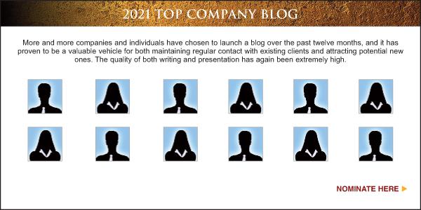 Nominate Top Sales & Marketing Company Blog 2021