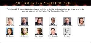 Top Sales & Marketing Awards 2015 Article