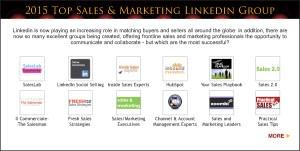Top Sales & Marketing Awards 2015 LinkedIn Group