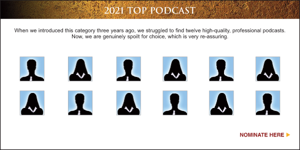Nominate Top Sales & Marketing Podcast 2021