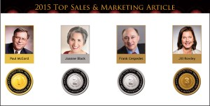 Top Sales & Marketing Awards 2015 Article