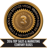 2016 Top Sales & Marketing Company Blog - Bronze
