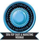 2016 Top Sales & Marketing Webinar - Finalist