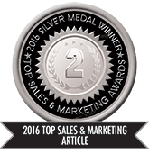 2016 Top Sales & Marketing Article - Silver