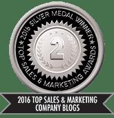 2016 Top Sales & Marketing Company Blog - Silver