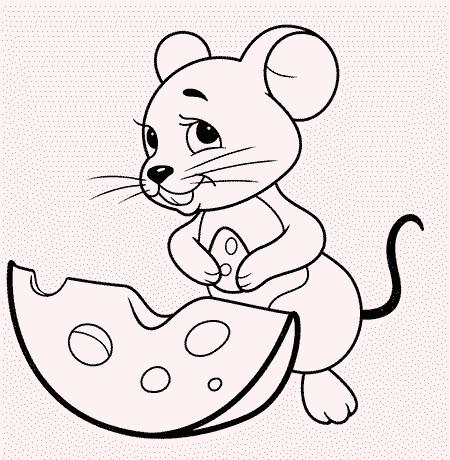 Souris et fromage