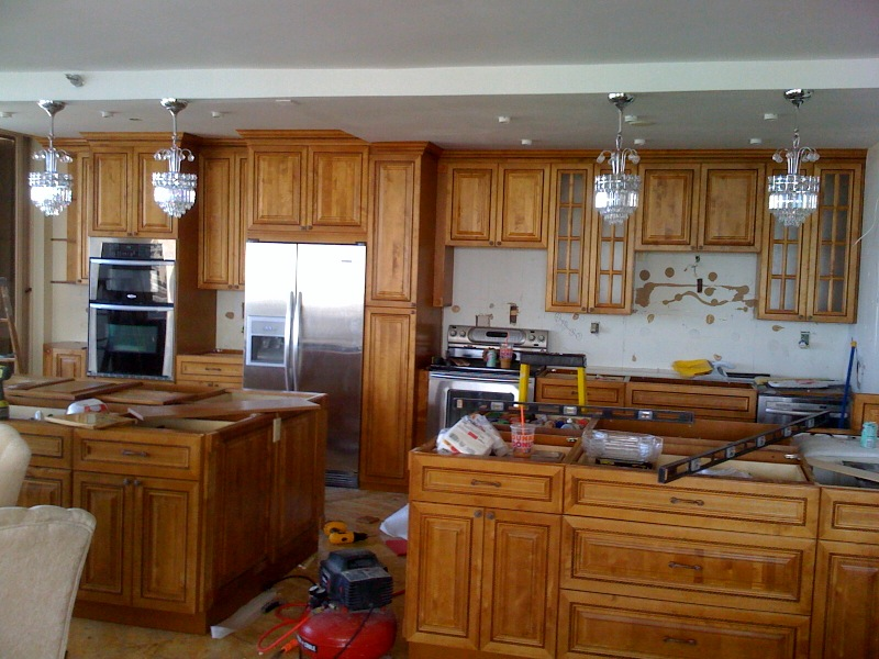 tops kitchen cabinets pompano barbie gourmet gallery - and granite countertops ...