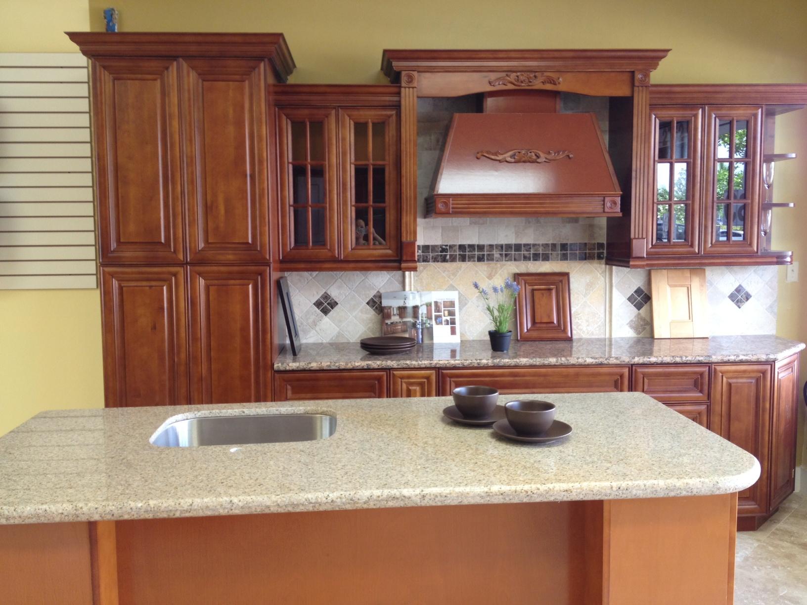 tops kitchen cabinets pompano drano for sink gallery and granite countertops