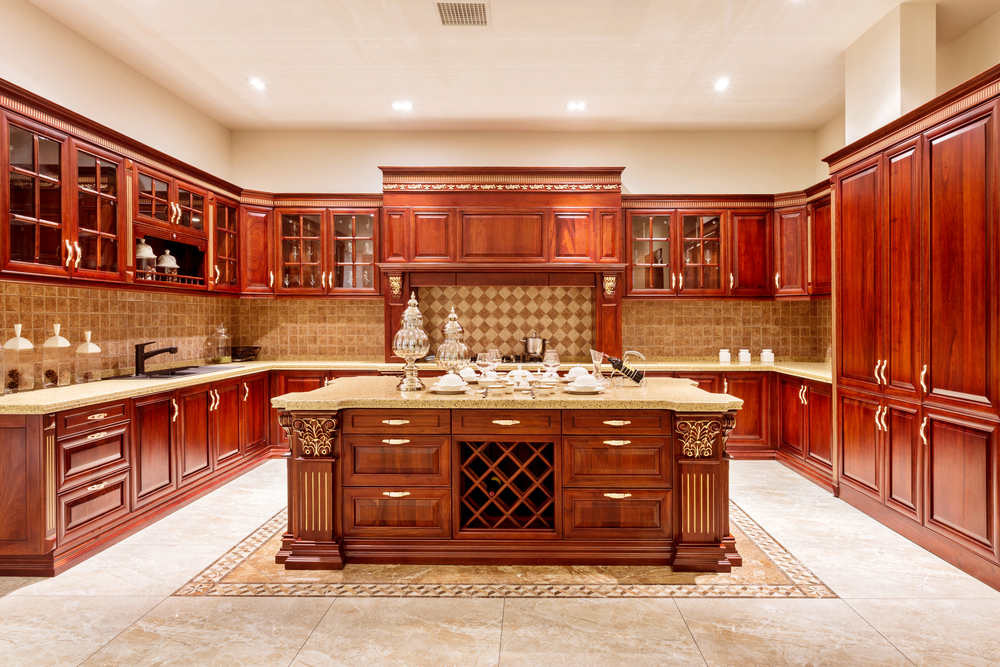 tops kitchen cabinets pompano used the advantages of solid wood