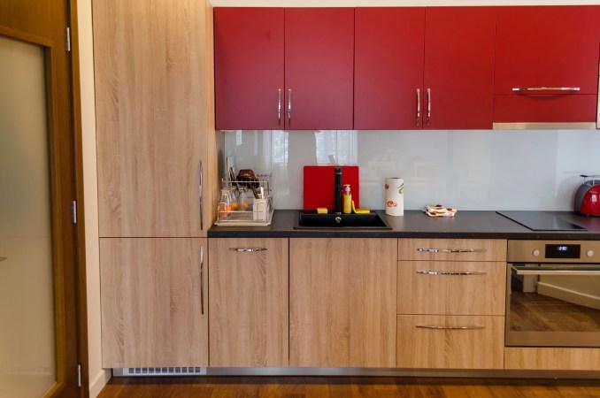 Vintage Wooden Kitchen Cabinet