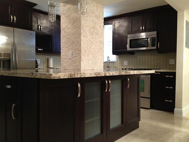 espresso shaker kitchen cabinets remodeling virginia beach wholesale | pompano fl